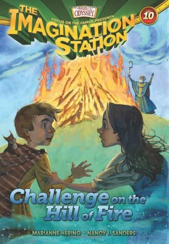 Challenge on the Hill of Fire AIO Imagination Station Books product image