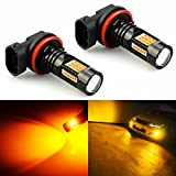 JDM ASTAR Bright Amber PX Chips H11 H8 H16 LED Fog Light Bulbs