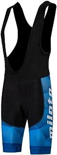 Uriah Men's Cycling Bib Shorts Black 3D Coolmax Gel Padded