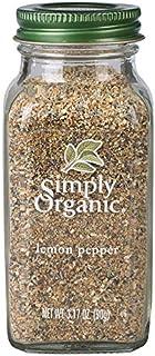 Simply Organic Lemon Pepper, Certified Organic   3.17 oz