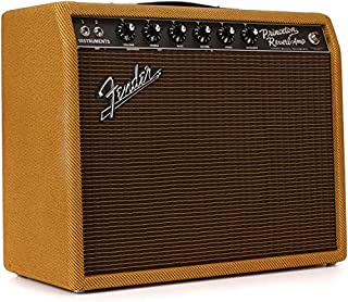 Fender 65 Princeton Reverb 15-Watt 1x12 Inches Tube Combo Amp - Lacquered Tweed