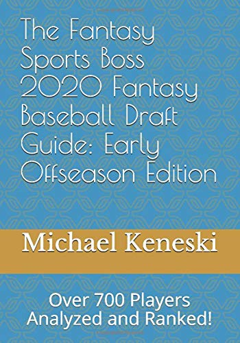 Fantasy Sports Baseball Draft Guide