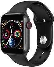 HWTP Smartwatch voor mannen met hartslagfrequentie iwo 9 iwo 8/iwo 10 smartwatch voor dames/mannen 2019 voor Apple iOS