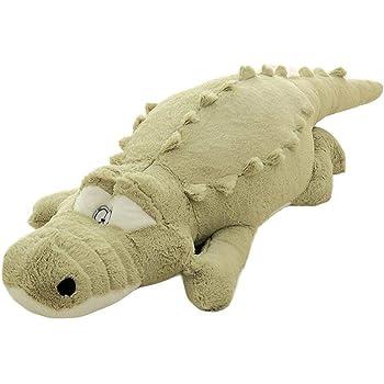 ぬいぐるみ 特大 ワニ/鰐 大きい 可愛い わに 抱き枕/プレゼント/ふわふわぬいぐるみ (160cm, グリーン)