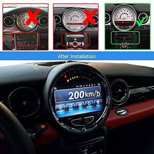 REALMEDIA Android 9.0 Autoradio GPS NAVI DVD Bluetooth SD USB für Mini Cooper Countryman Roadster+++REALMEDIASHOP Garantie+++
