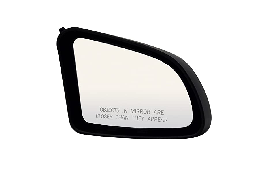 Pilot 2570031 Ford Tempo Black Power Non Heated Replacement Passenger Side Mirror