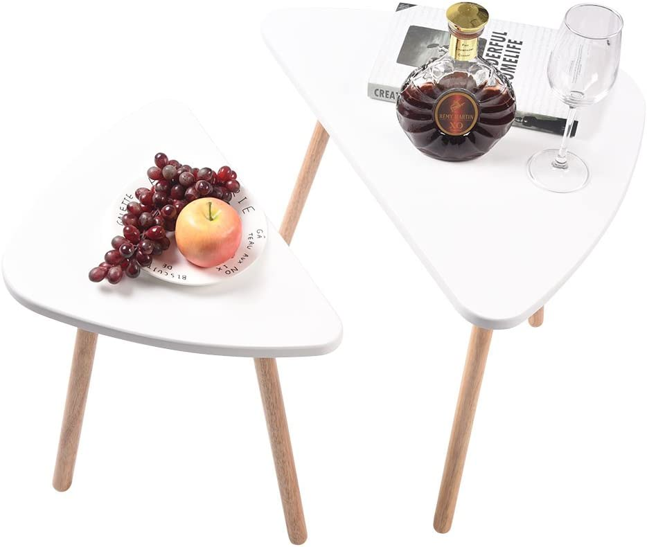 XQAQX Limited Special Price Wodern Tables specialty shop Wooden 2PCS Desks Modern