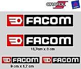 Pegatina Adhesivo Compatible con FACOM Impresion Digital 4 Unidades