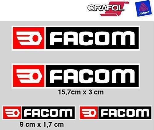 Stickers plakband compatibel met Facom Print Digital 4 eenheden