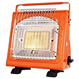 TTXS Calefactor De Gas Portátil para Acampar, Calentador De Gas De Cerámica De Butano para Viajes, Camping, Caravanas, Pesca Y Hogar En Interiores Y Exteriores