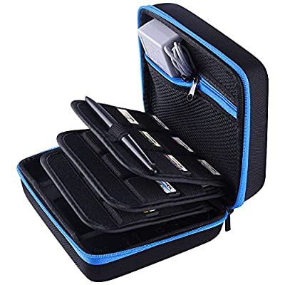 SIQUK Carrying Case Protective Storage Case for Nintendo 2DS, Blue