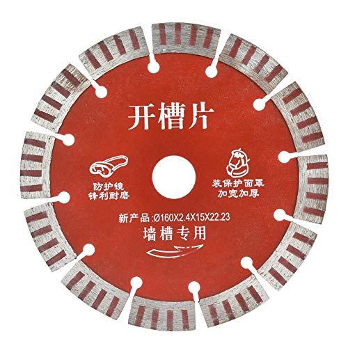 Diamond Circular Saw Blade, 5pcs 160mm Diamond Circular Saw Blade Cutting...