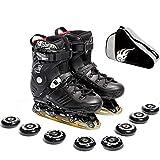 Taoke Adult Inline Skates Anfänger einreihig Skates geeignet for Studenten Jugend Durable Roller Skates Männer und Frauen (Farbe: # 1, Größe: EU 40 / US 7.5 / UK 6.5 / JP 25cm) dongdong