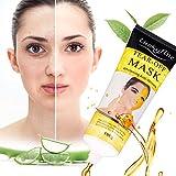 Mascarilla de cuidado facial, Blackhead Remover Mask, LuckyFine. Cuidado facial para atenuar la arrugas, antienvejecimiento, Vitamina E, hidratante, ácido hialurónico y colágeno