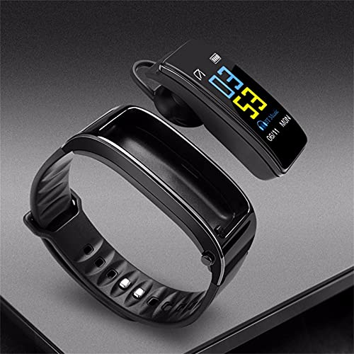 JUSHINI Smartwatch, Smart Watch Y3 Plus 0,96 Zoll 2-in-1 Smart Armband Mit Blueteeth Kopfhörer Schlafmonitor Schrittrechner Fitness Tracker Sportarmband Herren Damen Fitness Sportuhr
