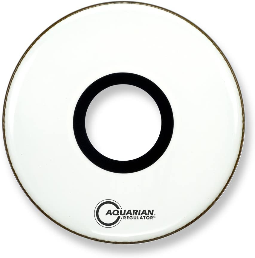 Aquarian Drumheads RPT20WH Regulator Award-winning store White Bass Limited Special Price Drum 20-inch Hea