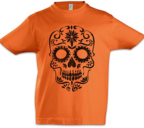 The Mermaid Conviction Mexican Skull II Niños T-Shirt