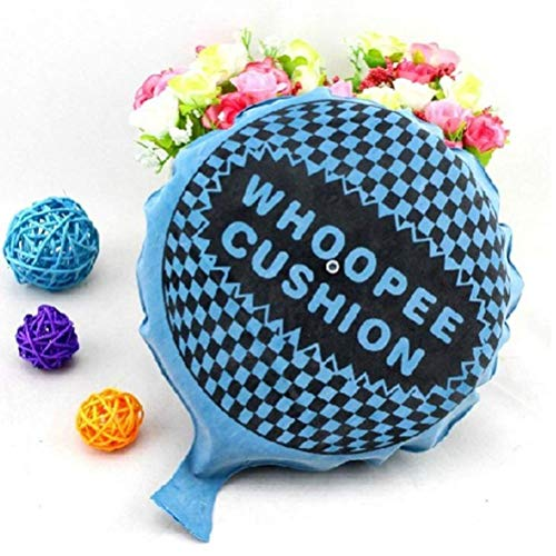 OUTEYE Whoopee Cushion Self-Inflating Whoopee Cushion Prank Toy Novelty Trick Joke Gift Toy Party Favor (Random Color 20cm)