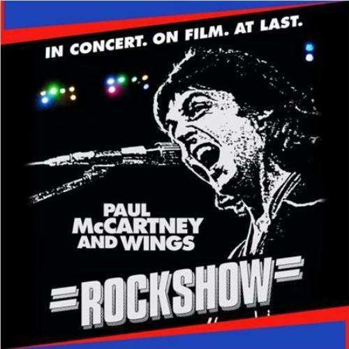 Paul Mccartney & Wings - Rockshow (Live Album) Cd Vinyl Look Retro Black Edition 2014