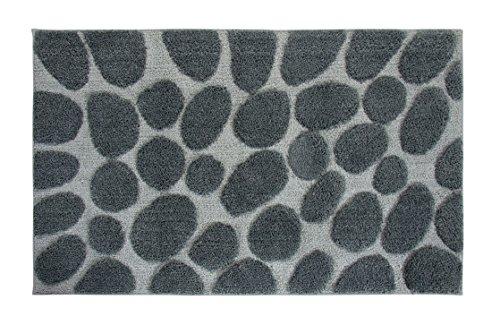 Casalanas Tapis de Bain « Olbia » - extrêmement Absorbant par Une Microfibre de Haute Technologie, antidérapant par Une Partie inférieure Enduit par Latex – avec Un Design Intemporel