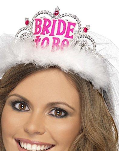 """Diadem mit Schleier """"Bride to be"""" - 5"""