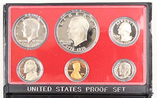 1976 S U.S. Mint Proof Set In OGP Gem Proof