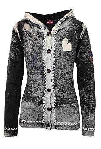 Almgwand W Dachsalm Schwarz, Damen Jacke, Größe 42 - Farbe Schwarz