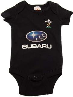 ラグビー ウェールズ代表 Wales RU オフィシャル商品 赤ちゃん・ベビー用 半袖 ボディースーツ ロンパース (2枚入)