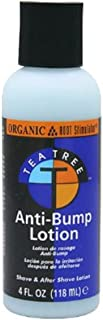 Organic Root Stimulator Tea Tree Oil Anti-Bump Lotion, 4 oz (Pack of 3)
