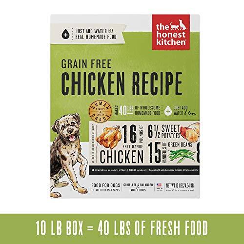 The Honest Kitchen Human Grade Dehydrated Grain-Free Dog Food