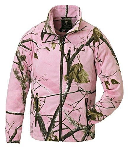 Pinewood Kinder Fleecejacke Oviken Kids Fleece Jacket, Realtree AP Pink HD, 176