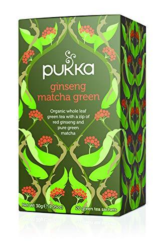 Pukka Ginseng Matcha Green - 20 filtri