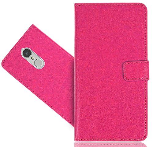 FoneExpert® Lenovo K6 Handy Tasche, Wallet Hülle Flip Cover Hüllen Etui Hülle Premium Ledertasche Lederhülle Schutzhülle Für Lenovo K6