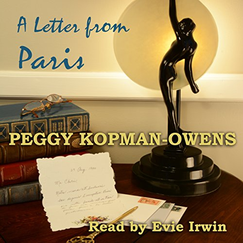A Letter from Paris audiobook cover art