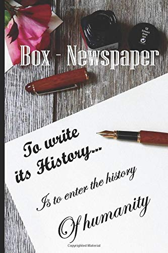diary of a confined and the days after / note - diary - secret - and personal memory - box newspaper - autobiography notebook - story -100 pages