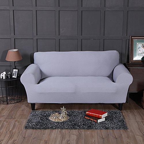 FORCHEER Divano Copre copridivano Elasticizzato in Poliestere Spandex Tessuto Divano Slipcovers Twist Texture Settee Covers Couch Protector