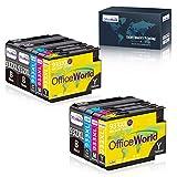 OfficeWorld Compatible Cartouche d'encre Replacement pour HP 932XL 933XL 932 933XL pour HP Officejet 6700 Premium 6600 7612 7110...