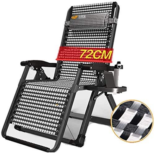 Tumbona de jardín exterior / Las sillas reclinables Patio Patio sillas reclinables, sillas de gravedad cero de Jardín Patio Sunloungers sillas plegables reclinables Tumbona Sillas de cubierta de sol s