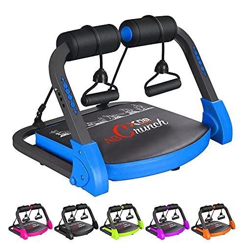 XN8 Bauchmuskeltrainer Abs Core Abdominal Trainer Bauchtrainer Ab Trainer Core Abdominal Workout Fitness Exerciser Sit-Up-Hilfe Bauchtraining Geräte für Body Fitness- Krafttraining- Yoga- Gymnastik