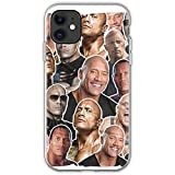 Actor The Dwayne Johnson Unique Design Phone Case Cover for iPhone TPU Protective