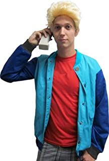 90's Saved by the Stud Costume Bayside Jacket & Wig- zack morris