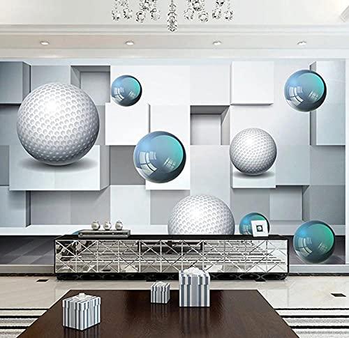 Papel Pintado Murales 3D Papel Tapiz Mural 3D Stereo Crystal Ball Murales De Arte Abstracto Sala De Estar Tv Sofá Dormitorio Decoración Para El Hogar Papel De Parede Fresco-300 * 210Cm