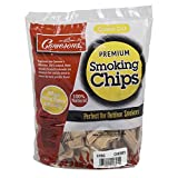 Smoking Wood Chips (Cherry)- 260 cu. in. (0.004m³) - Coarse Kiln Dried BBQ Chips- 100% All Natural Barbecue Smoker Shavings- 2lb Bag