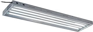 Oppolite T5 4FT 4-lamp Fluorescent Grow Light Ho Bulbs 6500K for Indoor Horticulture Gardening T5 Grow Lights Fixtures 54W