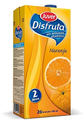Juver Bebida Refrescante sin Azúcar Naranja, 2L
