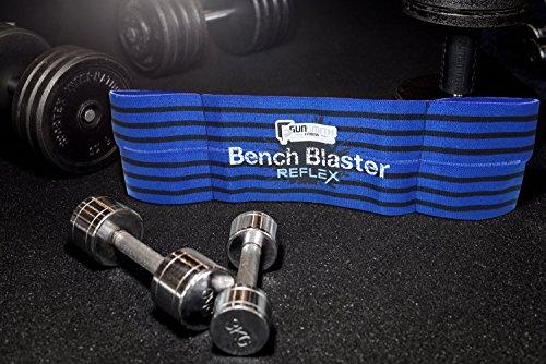 Bench Blaster Reflex – Hebegurt Crossfit, Gewichtheben Kraftdreikampf Bankdrücken Fitness Gewichtetraining Krafttraining