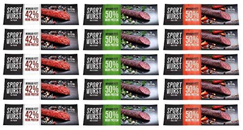 Grillido Sportwurst - Mixpacks (15er Mixpack)