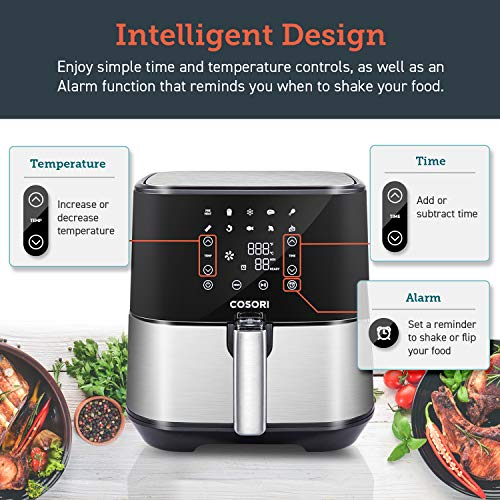 COSORI Air Fryer Reviews - COSORI Stainless Steel 5.8Qt Large Air Fryers XL