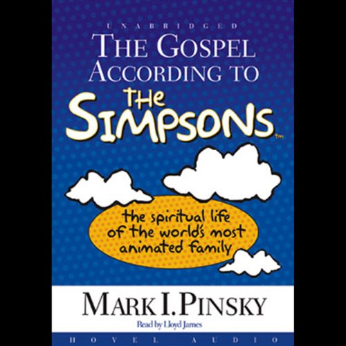 The Gospel According to the Simpsons audiobook cover art