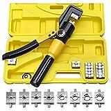 WFAANW Herramienta que prensa hidráulica Crimper 8T manual de servicio pesado 4-70mm